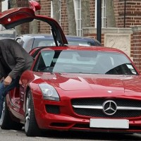 Problems Of Rowan Atkinson And His Mercedes SLS AMG