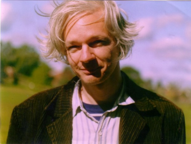 Julian Assange, around 2006