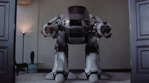 ED-209, a killer robot from Robocop