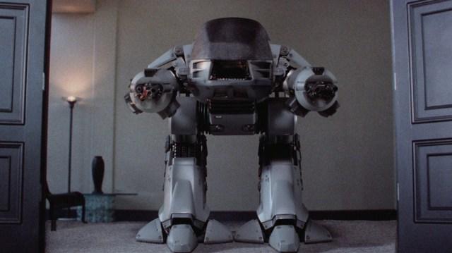 ED-209, a killer robot from Robocop