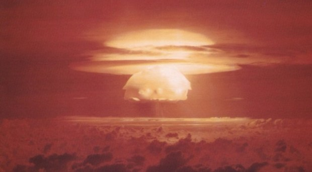 CastleBravoShot hydrogen bomb nuclear