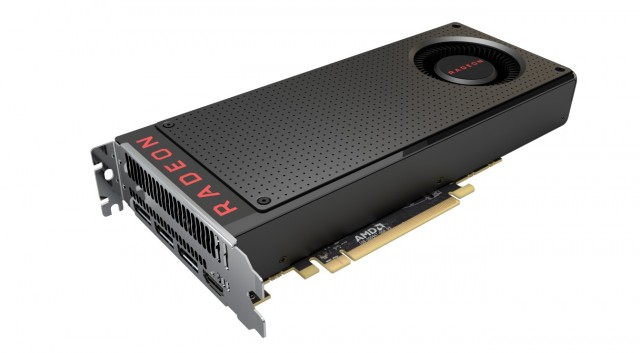 RX 480 Three-quarter