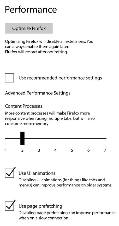 PerformanceOption