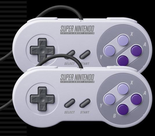 Super NES controllers SNES