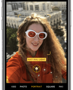 TrueDepth allows Apple to add Portrait mode for selfies without a more typical dual-camera system