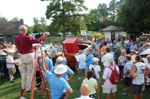 This year, more than 90 boats, ranging in size and performance from sailing dinghies to cabin cruisers, will be available to the highest bidders at the Chesapeake Bay Maritime Museum's 16th annual charity boat auction, to be held Saturday, August 31 (Labor Day weekend) along the museum's 18-acre waterfront campus in St. Michaels, MD. Donated boats and gear are still being accepted for the event, with all proceeds benefiting the people served by the non-profit museum. Contact Lad Mills at lmills@cbmm.org or call 410-745-4942 for more info.