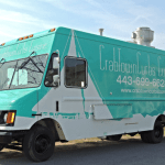 CrabtownCurbs food truck stationed in Annapolis