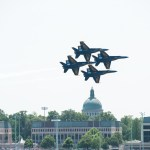 Blue Angels over the Severn River (PHOTOS)