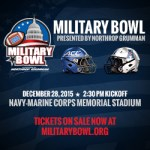 Navy is formally in for the Military Bowl
