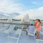 Watermark's Harbor Queen resumes Wednesday Night Race sailings