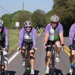 RAAM team biking for Hospice of the Chesapeake