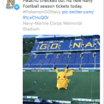 Navy Athletics ranks 8th for their social media skills