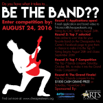 3rd Annual 'Be The Band' competition entries due on August 24