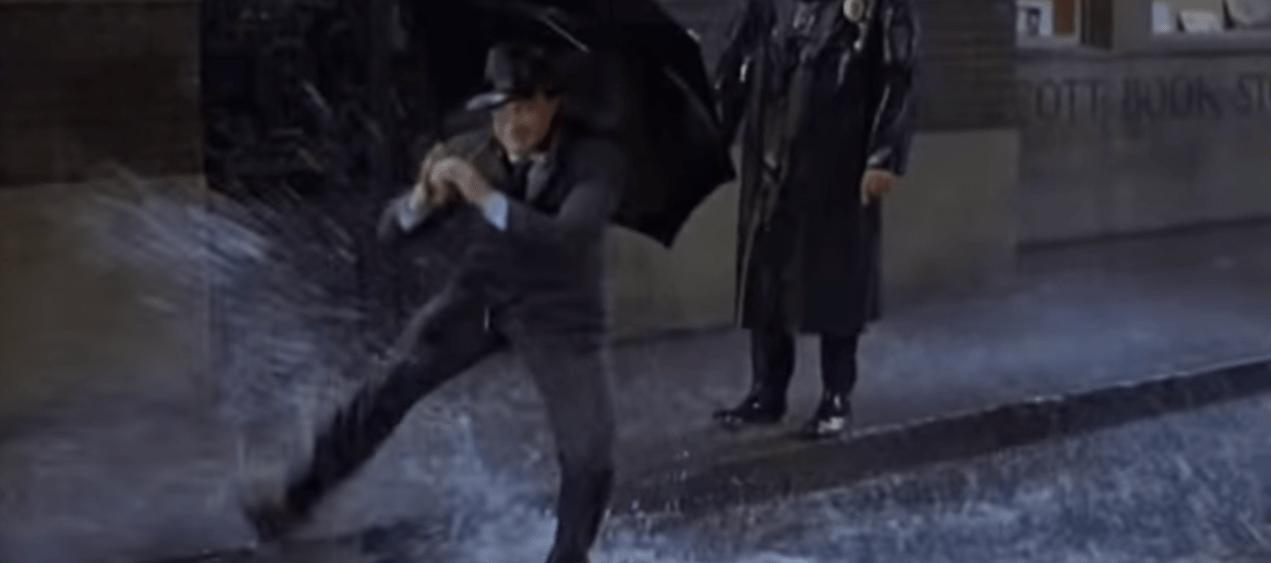 """""""Singing in the Rain"""" ohne singen"""