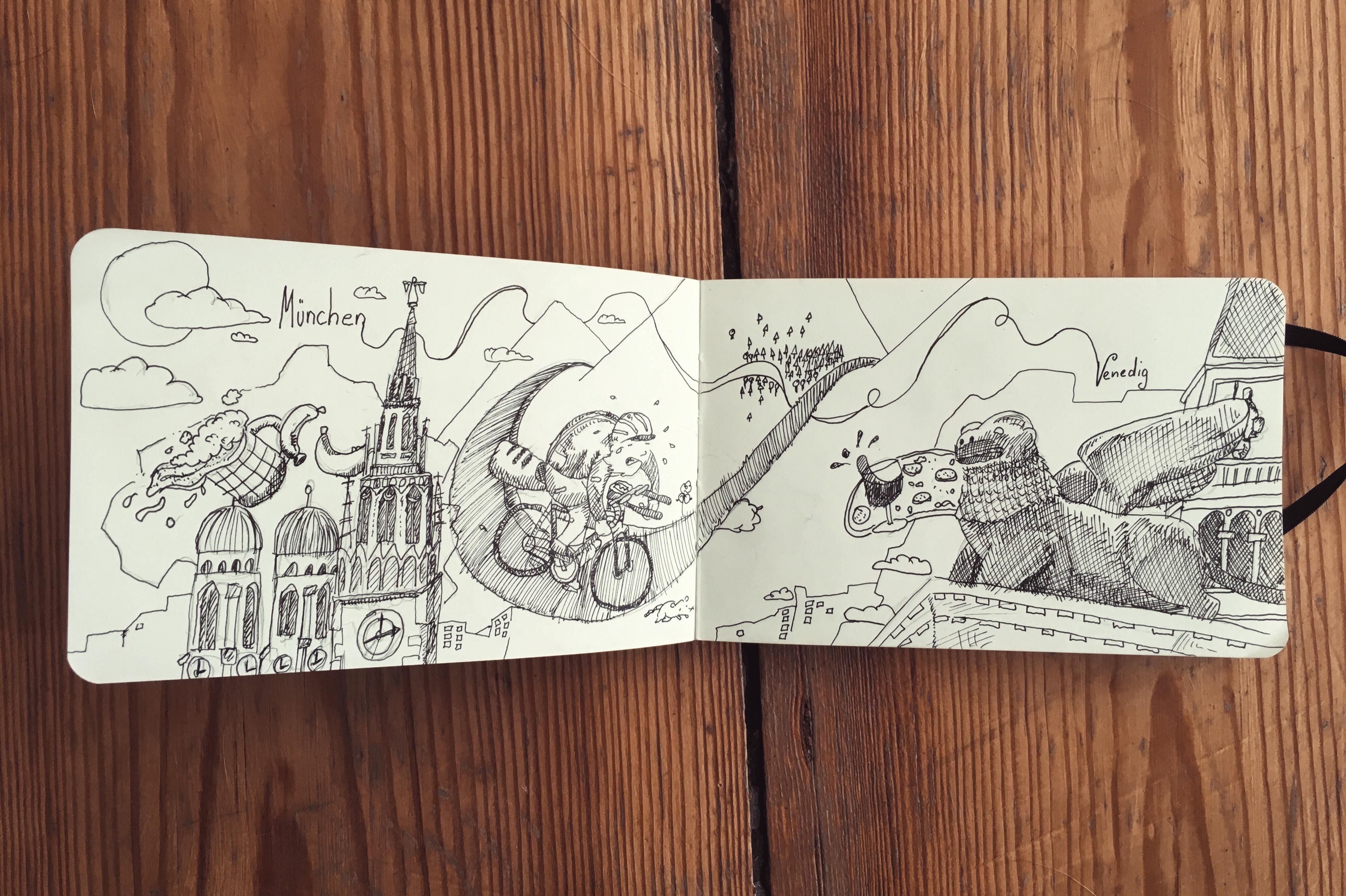 MucVen: Mit dem Fahrrad über die Alpen (Teil 2: Das Fahrrad)