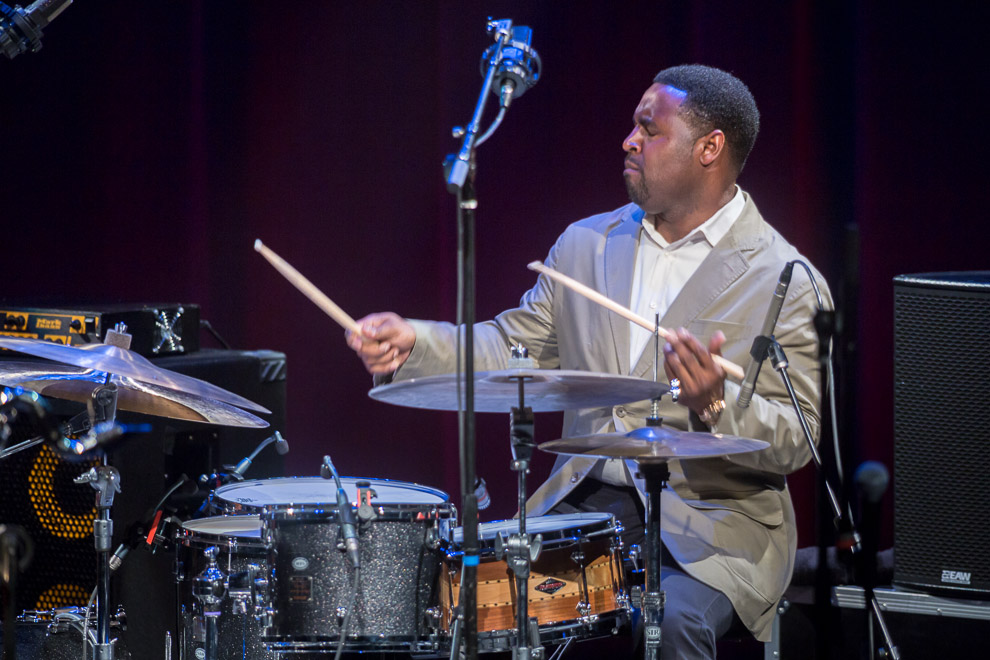 Kendrick Scott Oracle at the 2013 Bellevue Jazz Festival