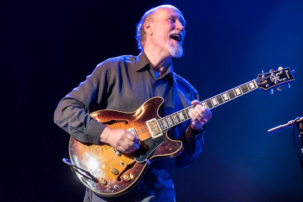 Jazz guitarist John Scofield in concert