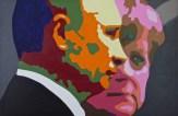 Ich weiss was du getan hast 80 x120 cm - Acryl auf Leinwand - 2014