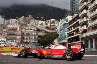 Sebastian Vettel, Ferrari, Monte-Carlo, 2016 · F1 Fanatic