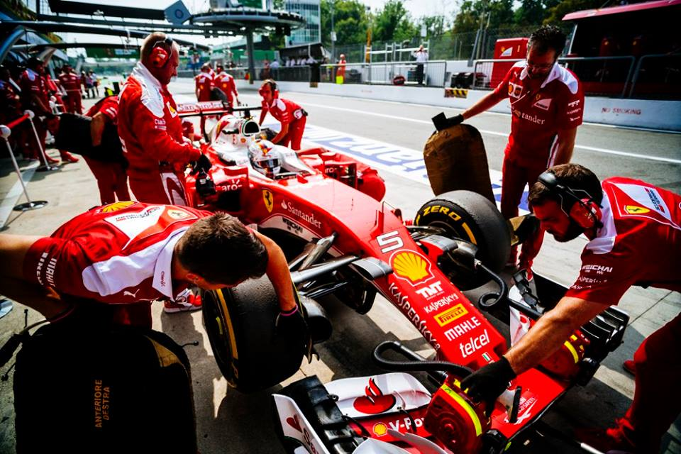 GP Singapore 2016, Sebastian Vettel: