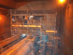 Recuperação de ventilação do túnel de emergência situado na mineração maracá - Alto Horizonte / GO
