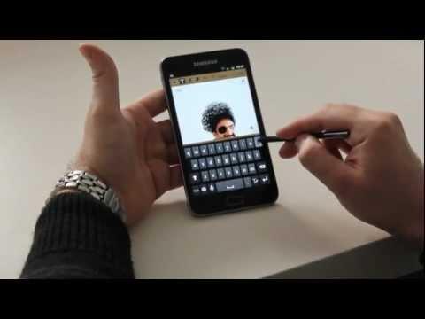 Samsung Galaxy Note – Hands On!!