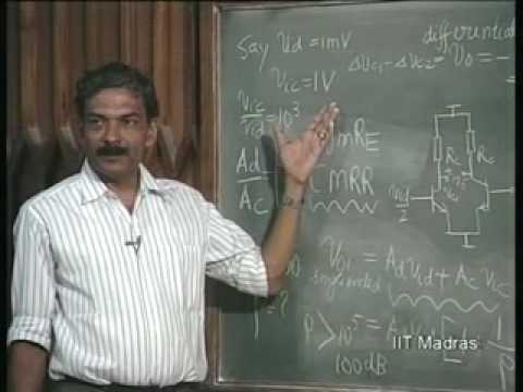 The Differential Amplifiers Diodes video lecture -Electronics Engineering Lecture – 31