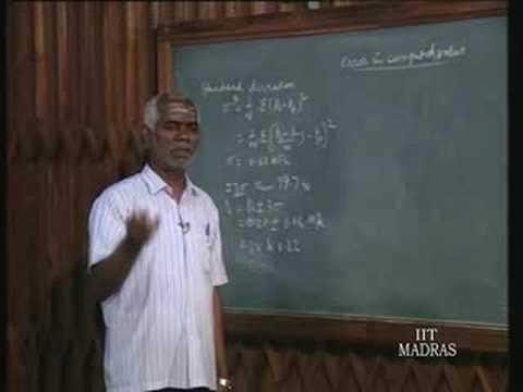 Principles Of Mechanical Measurements – Lecture – 8