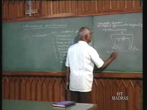 Principles Of Mechanical Measurements – Lecture – 1