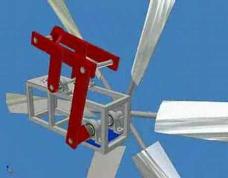 Inventor windmill waterpump project