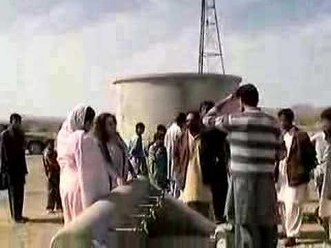 Concern Wind Powered Water Pump, Awaran