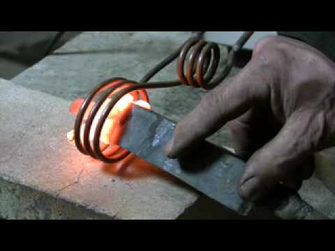 Induction Forge – Show and tell
