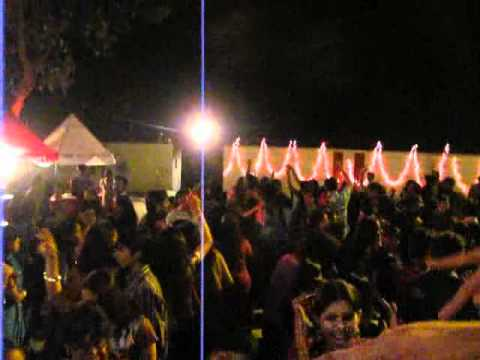 Girls Hostel day dance party at IIT Roorkee