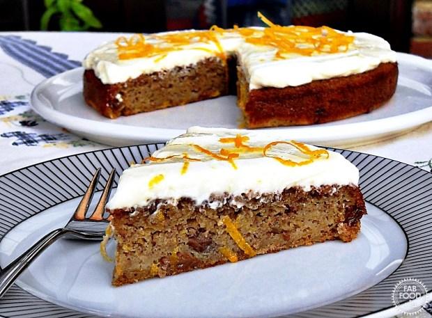 Quick Spelt Butternut Squash Cake - Fab Food 4 All