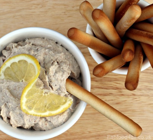 Smoked Mackerel Pate, Dip, cream cheese, Philadelphia, philly, frugal, omega 3, horseradsih cream