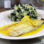 Grilled Seabass with Lemon Garlic Butter Sauce & Colcannon (30) lr