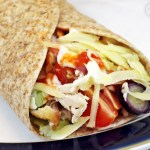 Easy Cheesy Pulled Chicken Wraps - your way! #CheeseRules #LoveCheese