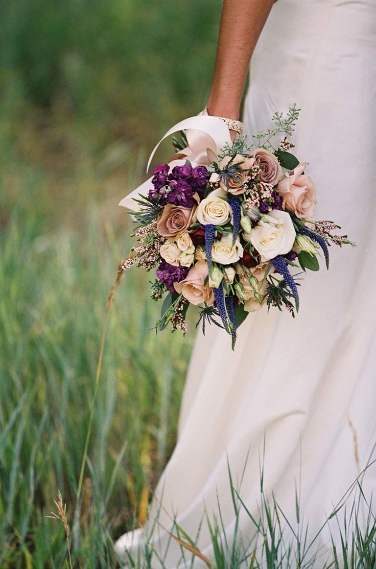 fall wedding bouquet roses wedding bouquets fall flowers for weddings Photography orchiddynasty com gorgeous blooms in blush eggplant blues