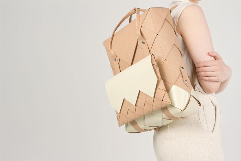 Inspiración mochila cuero