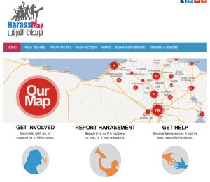 Effort to stop sexual harrassment in Cairo.