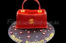 Red Handbag Cake