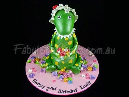 dinosaur-green-cake