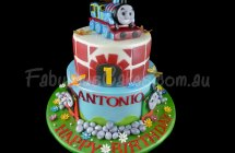 Thomas the Tank Engine Cakes