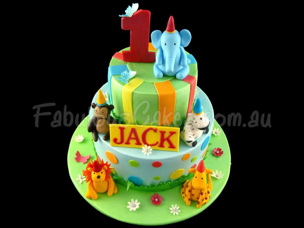 Animal Theme Cakes Fabulous Cakes