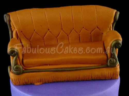 Birthday Cake with Sofa