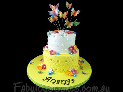 Ananya Yellow Cake
