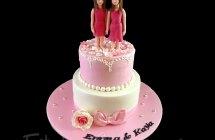 Pink Birthday Cakes