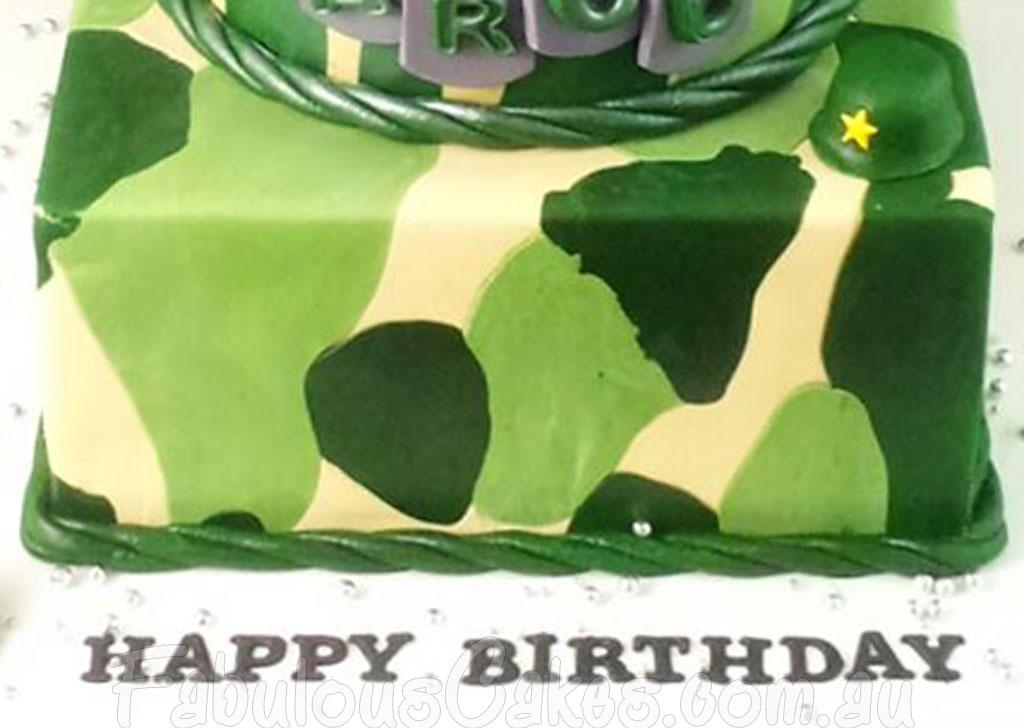 Army Theme Cakes Fabulous Cakes