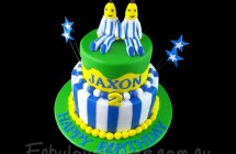 Bananas in Pyjamas Cakes