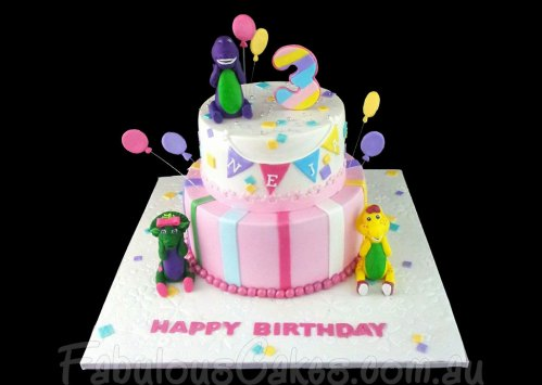 Barney and Friends Cake